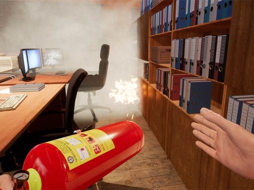 VR-тренажер: Действия при пожаре