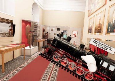 VR-музей: Экскурсия по железнодорожному музею