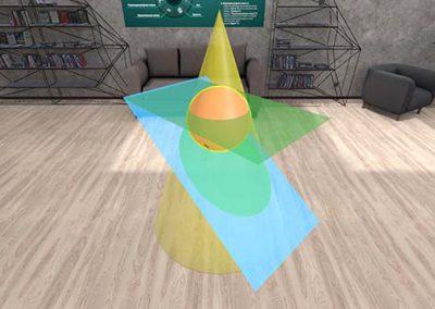 VR-обучение: Стереометрия для школьников